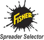 Click here to experience the Fisher Spreader Selector - Find out which Fisher spreaders will fit your truck.