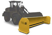 Fisher Storm Boxx for Wheel Loaders - sold by Sarris Truck Equipment, Waltham, MA