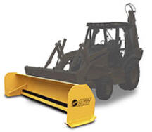 Fisher Storm Boxx for Backhoes - sold by Sarris Truck Equipment, Waltham, MA